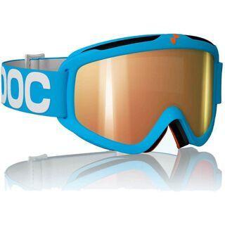 POC Iris X, Blue/Clear/Red mirror - Skibrille