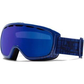 Giro Basis, Blue Motherboard/Grey Cobalt - Skibrille