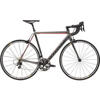 Cannondale CAAD12 105 2017, charcoal gray/black/red - Rennrad
