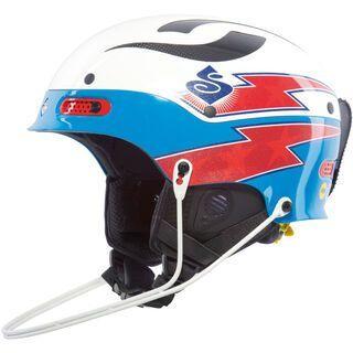 Sweet Protection Trooper SL TE MIPS, white/blue metallic - Skihelm