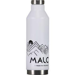 Maloja TermoM.NOS Thermos Bottle, snow - Trinkflasche