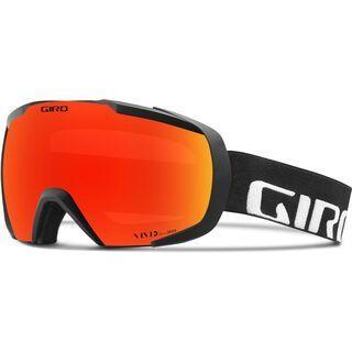 Giro Onset, black wordmark/Lens: vivid ember - Skibrille