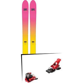 Set: DPS Skis Yvette 112 RP2 Foundation 2018 + Tyrolia Attack² 18 X GW red