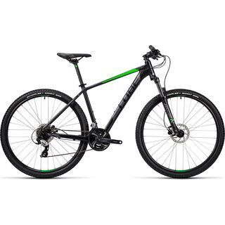 Cube Aim Pro 29 2016, black´n´green - Mountainbike