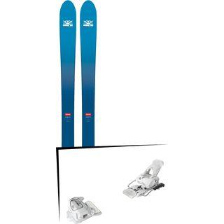 Set: DPS Skis Wailer F106 Foundation 2018 + Tyrolia Attack² 12 GW matt white