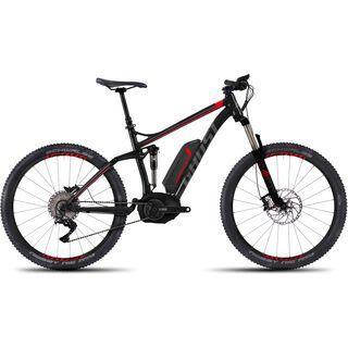 Ghost Teru FS X 10 2016, black/red/gray - E-Bike
