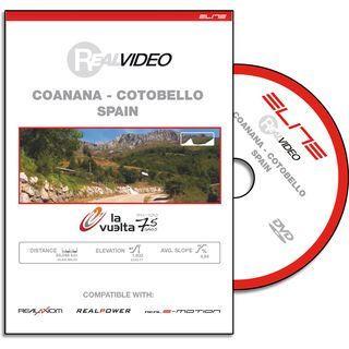 Elite DVD für RealAxiom und RealPower - Vuelta Coanana-Cotobello - DVD