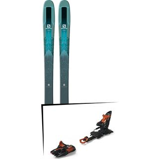 Set: Salomon QST Lumen 99 2018 + Marker Kingpin 13 black/copper
