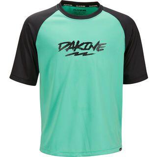 Dakine Kid's Prodigy S/S Jersey, electric mint - Radtrikot
