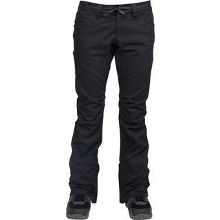 Nitro L1 Heartbreaker Denim Pants, black overdye denim - Snowboardhose