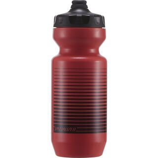 Specialized Purist Fixy 0,65 L, acid lava/black linear stripe - Trinkflasche