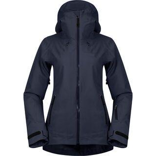 Bergans Stranda Insulated Hybrid W Jacket, dark navy/dark fogblue - Skijacke