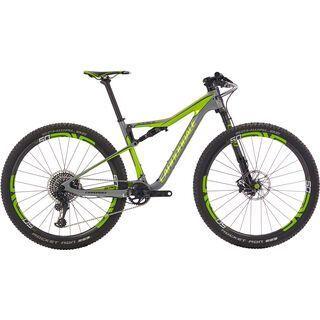 Cannondale Scalpel-Si Team 29 2018, grey/acid green - Mountainbike