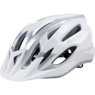 Alpina MTB 17, white-silver - Fahrradhelm