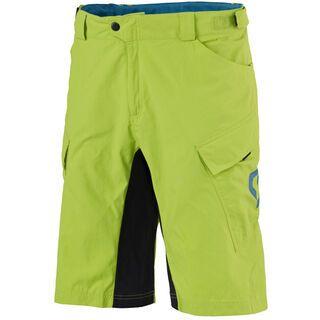 Scott Trail Flow LS/Fit w/Pad Shorts, green/blue - Radhose