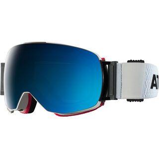Atomic Revent Q ML inkl. Wechselscheibe, white/Lens: blue multilayer - Skibrille