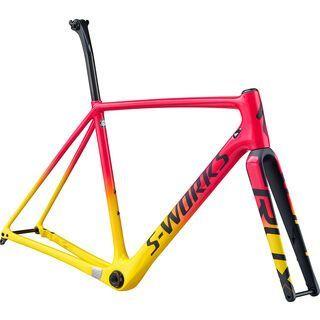 Specialized S-Works CruX Frameset 2020, yellow/pink/black