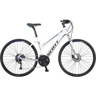 Scott Sub Cross 40 Lady 2016, white/blue - Fitnessbike