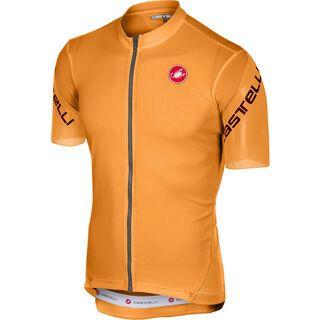 Castelli Entrata 3 Jersey FZ, orange - Radtrikot