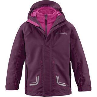 Vaude Kids Campfire 3in1 Jacket III, purpure - Jacke