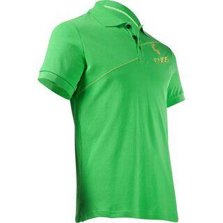 Cube Polo Shirt Diagonal, green