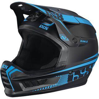 IXS Xact, black-fluo blue - Fahrradhelm