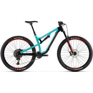 Rocky Mountain Instinct Carbon 70 2019, black/turquoise/red - Mountainbike