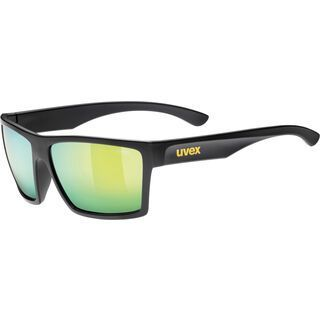 uvex lgl 29, black mat/Lens: mirror yellow - Sonnenbrille
