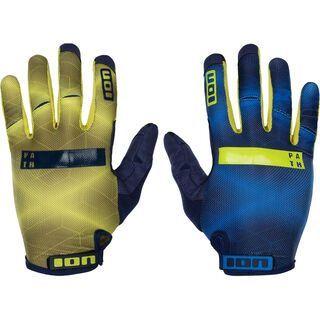 ION Gloves Path, night blue - Fahrradhandschuhe