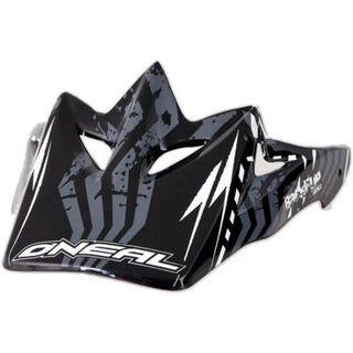 ONeal Spare Visor Backflip Fidlock DH Helmet Kids/Bomber, black - Helmvisier