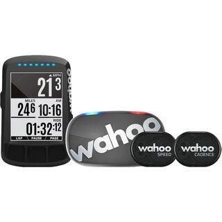 Wahoo Fitness Elemnt Bolt GPS Fahrradcomputer Bundle stealth