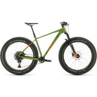 Cube Nutrail 2020, green´n´orange - Mountainbike
