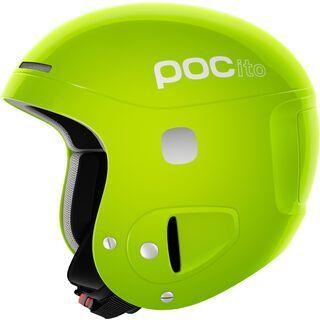 POC POCito Skull, flourescent yellow/green - Skihelm