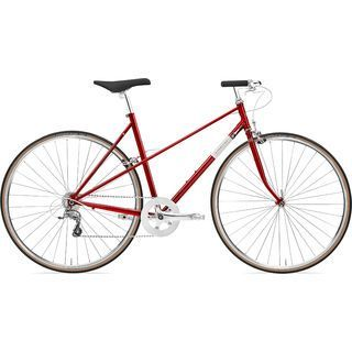 Creme Cycles Echo Mixte Uno 2019, deep red - Fitnessbike