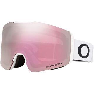 Oakley Fall Line XM Prizm, matte white/Lens: hi pink iridium - Skibrille