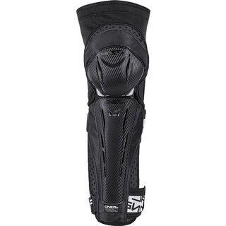ONeal Park FR Carbon Look Knee Guard, black/white - Knie/Schienbeinschützer