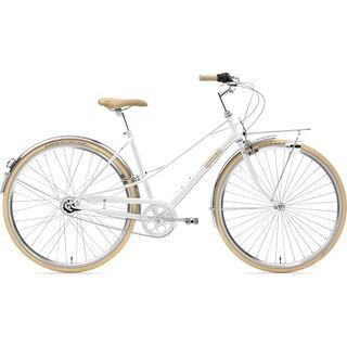 Creme Cycles Caferacer Lady Solo 2019, white - Cityrad
