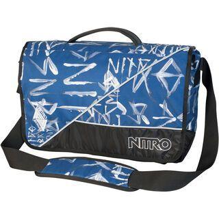 Nitro Evidence XL, Smear Midnight - Messenger Bag