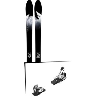 Set: Icelantic Sabre 99 2018 + Salomon Warden MNC 13 white/black