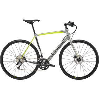 Cannondale Synapse Carbon Disc Tiagra Flatbar 2019, sage gray - Fitnessbike