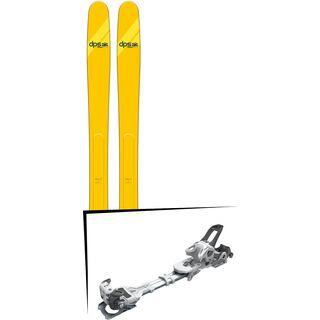 Set: DPS Skis Wailer A112 Alchemist 2018 + Tyrolia Ambition 12 AT solid white black