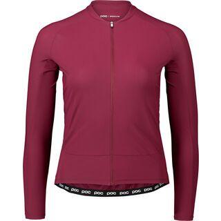 POC Essential Road Women's LS Jersey propylene red