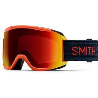 Smith Squad inkl. WS, red rock/Lens: cp sun red mirror - Skibrille