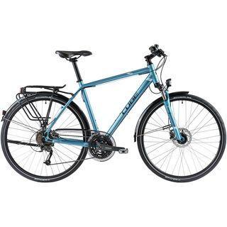 Cube Travel Pro 2014, metallic blue/anthrazit/white - Trekkingrad