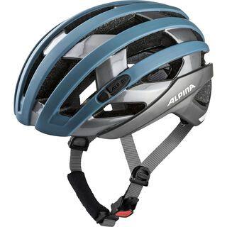 Alpina Campiglio, blue-titanium - Fahrradhelm