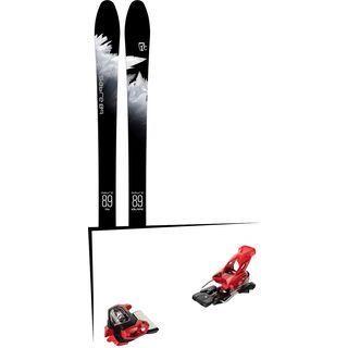 Set: Icelantic Sabre 89 2018 + Tyrolia Attack² 18 X GW red