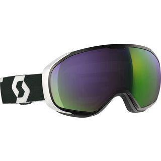 Scott Fix, black/white/Lens: ampli green chr - Skibrille
