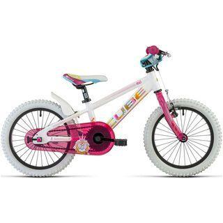 Cube Kid 160 Girl 2014, flower power - Kinderfahrrad
