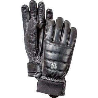 Hestra Alpine Leather Primaloft 5 Finger, schwarz - Skihandschuhe