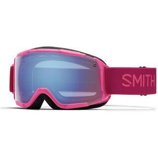 Smith Grom, fuchsia/Lens: blue sensor mirror - Skibrille